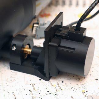 Microfocuser motor mounting bracket for 1:10 motor