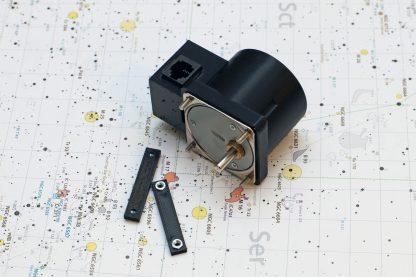 Focuser motor with RJ11 socket