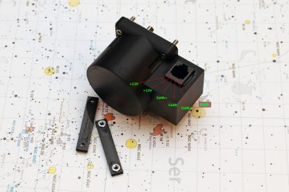 Focuser motor with RJ11 socket