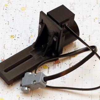 Focuser motor with bracket