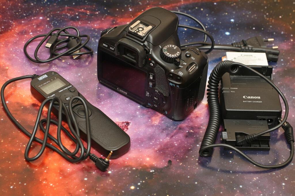 Canon 550D zestaw
