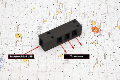 Sensor signal splitter